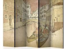 Paraván - Gondolas in Venice II [Room Dividers]